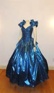 70s 80s prom dress zum zum sequined bodice size 9 10 modern small to