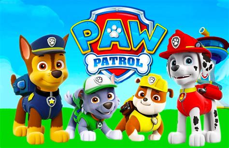 Dog Decorations For Home by Paw Patrol Are On A Roll Partyrama Blog