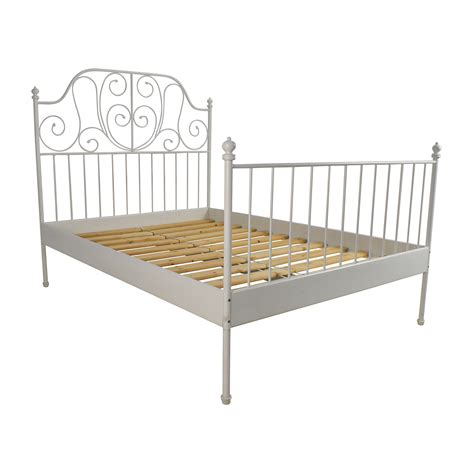 size bed frame ikea ikea leirvik bed frame frame design reviews