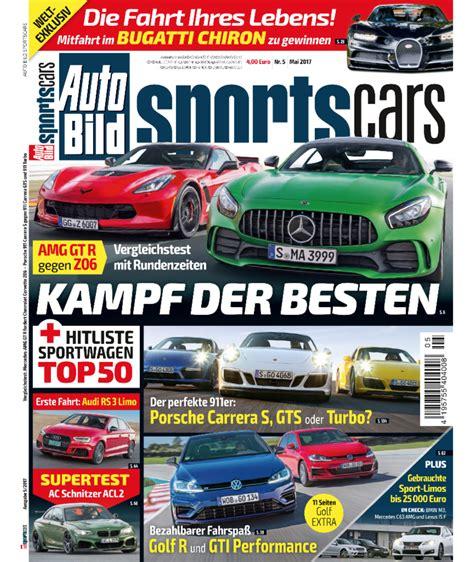 Auto Bild Sportscars 11 2017 by Weltexklusives Gewinnspiel Gewinnen Sie Eine Fahrt Im 2