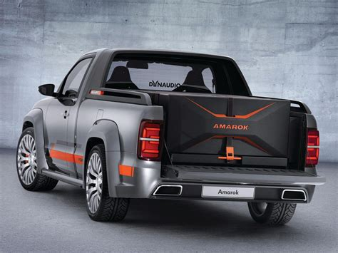 volkswagen amarok volkswagen amarok power concept headed to worthersee