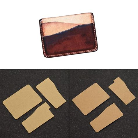 leather card holder template 1000 ideas about stencil templates on