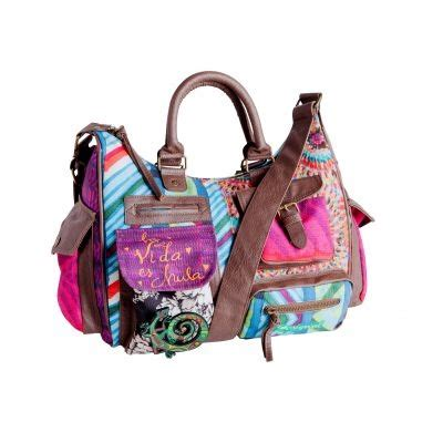 Fahsion Tas Anyaman Shoulder Bag Kombinasi F 001 3 Suisses Sac Femme Desigual Femme Bags