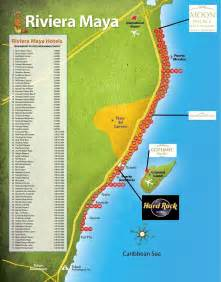 Riviera Maya Mexico Map by Riviera Maya Resorts Images