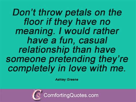 don t throw petals on the floor if they by greene