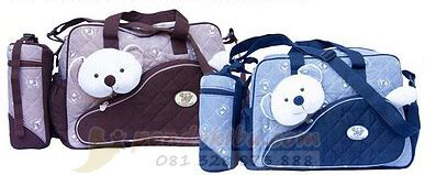Tas Bayi Tas Perlengkapan Bayi Bag Dialogue Owl Medium tas bayi dialogue multi fungsi ukuran besar pondok ibu