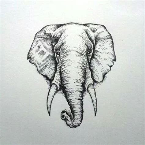 dotwork elephant tattoo elephant dotwork tattoo google search tatts