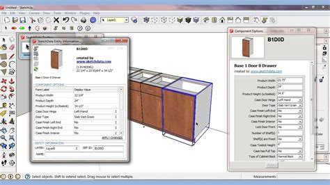 sketchup layout components sketchup plugin for components and attributes youtube