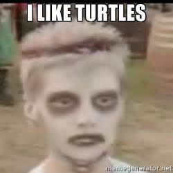 I Like Turtles Meme - the quot beat the chion to be the chion quot fallacy