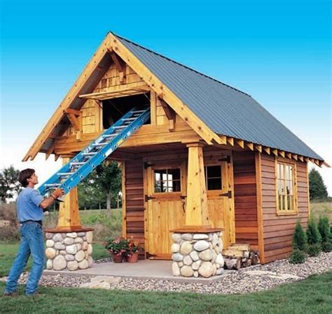 shed plans ideas  pinterest storage shed