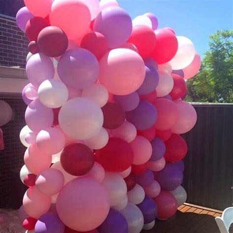 Best 25  Balloon wall ideas on Pinterest   Balloon backdrop, Ballon backdrop and Letter balloons