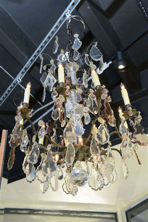 Nine West 2282 19 19th century baccarat chandelier for sale at 1stdibs