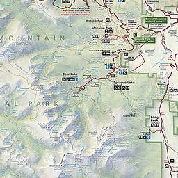 rocky mountain national park map map2