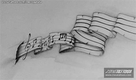 imagenes de tatuajes de notas musicales pin tatuajes partituras musicales fotos tattoos ajilbabcom