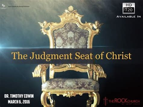 The Judgment the judgement seat of march 6 2016