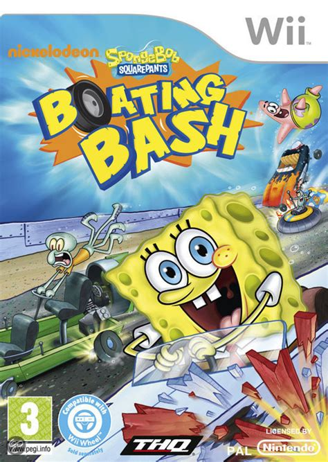 boten spelletjes bol spongebob boten bots race thq games