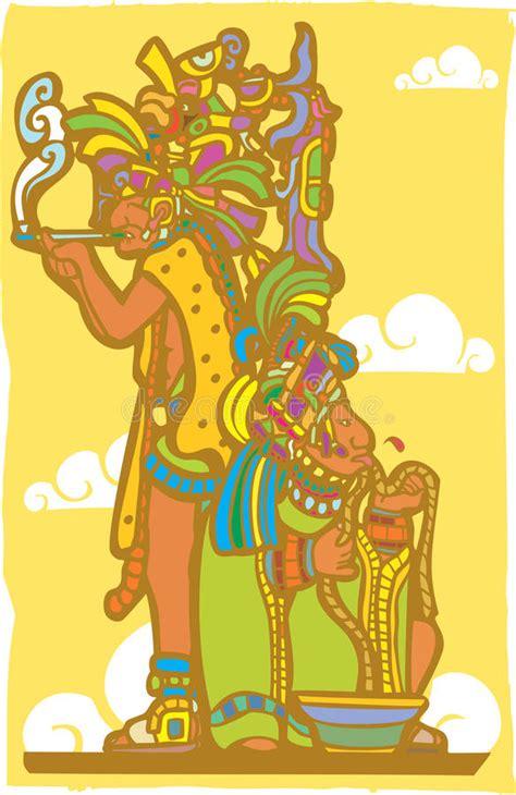imagenes de sacerdotes mayas sacerdotes mayas ilustraci 243 n del vector ilustraci 243 n de
