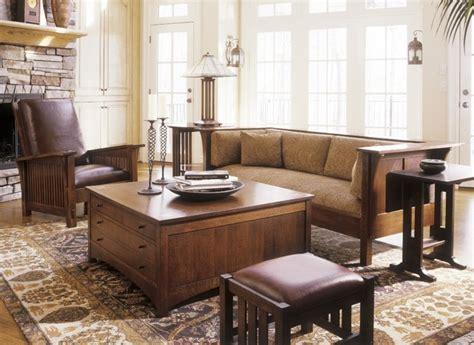 craftsman living room furniture mission collection craftsman living room other by