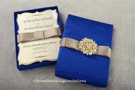 wedding invitation design royal blue 94 royal blue and gold wedding invitations classice