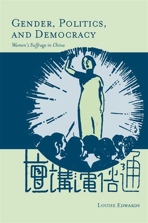 Gender And Politics cite gender politics and democracy women s suffrage in