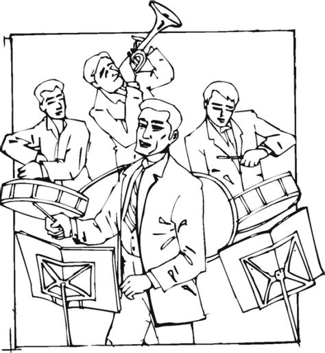 rock band coloring pages coloring pages