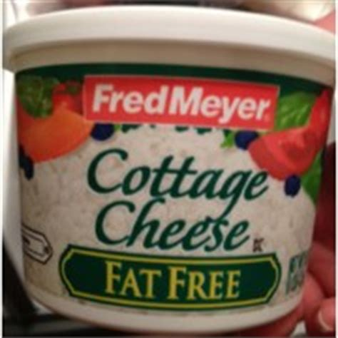 Cottage Cheese Shelf by Fred Meyer Free Cottage Cheese Calories Nutrition