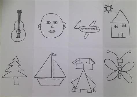 figuras geometricas con imagenes dibujo con formas geom 233 tricas portafolio arte en educaci 243 n