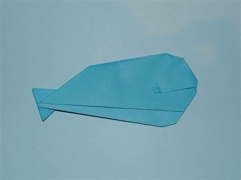 Whale Origami - how to make an origami whale origami