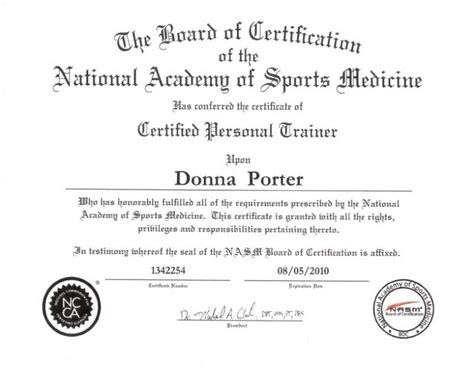 Personal Trainer Testimonial Template Gallery Template Design Ideas Personal Certificate Template