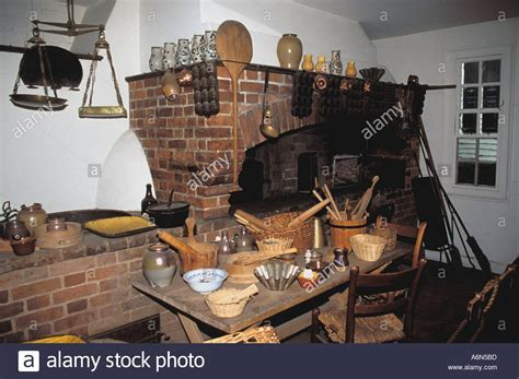Interior of Raleigh Tavern Bakery, Colonial Williamsburg