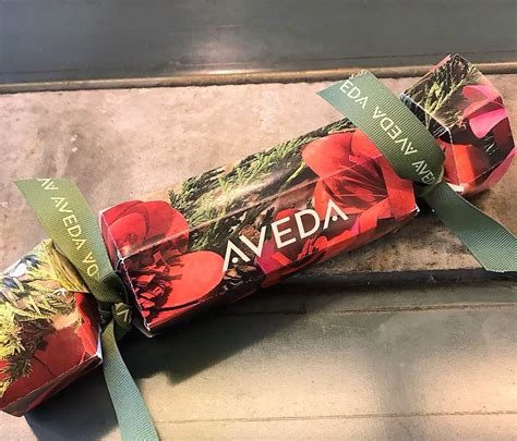 aveda christmas crackers 2017 festive hair treats