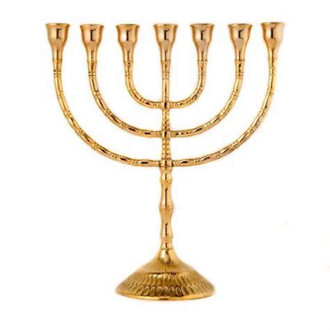 candele per candelabro candelabro menorah sette candele ottone vendita online