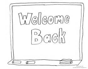 back to school coloring page welcome back to school coloring pages bestofcoloring