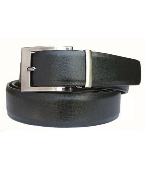 discover fashion black pu leather belt buy at low
