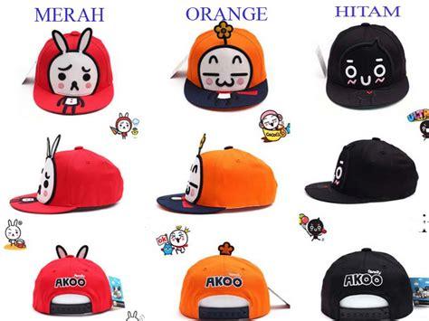 Topi Korean topi korean style akoo untuk dewasa model terbaru