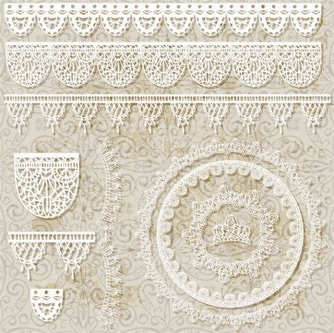 Lace Pattern Ai Free | lace pattern lace 01 vector free vector in adobe