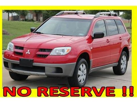 how to fix cars 2005 mitsubishi outlander free book repair manuals buy used 2005 mitsubishi outlander leather 1 tx owner rust free clean title no reserve in