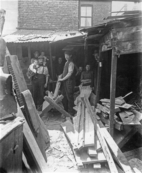 making firewood  scrap   john galt  museum