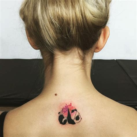 tattoos on back of neck 40 beautiful back neck tattoos for tattooblend