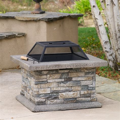 backyard fire pit lowes best selling home decor 238995 crestline outdoor fire pit
