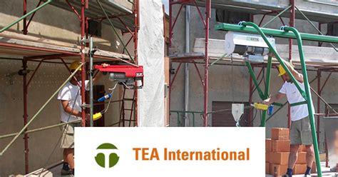 montacarichi a cremagliera tea international elevatori piattaforme per edilizia