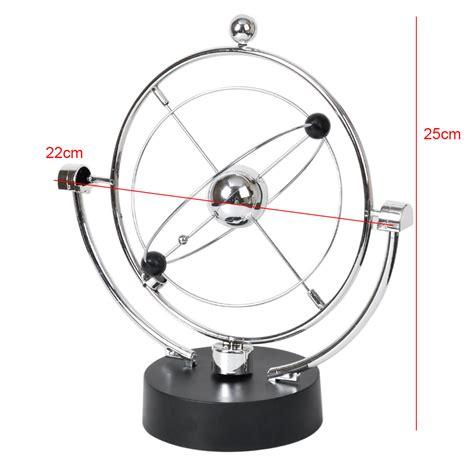 kinetic orbital revolving gadget perpetual motion desk