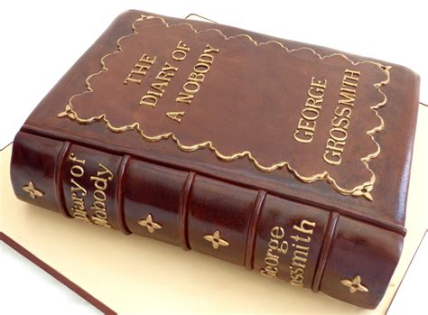 moodle theme leatherbound vintage leather bound book birthday cake 171 susie s cakes