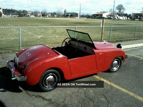 crosley car 1952 crosley shot roadster