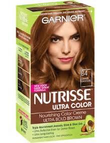 nutrisse colors nutrisse ultra color caramel chocolate hair color garnier