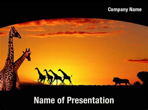 Africa Powerpoint Templates Africa Powerpoint Backgrounds Templates For Powerpoint Africa Powerpoint Template
