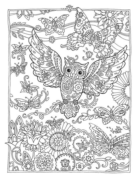 52 best images about adult coloring pages on pinterest creative haven owls coloring book by marjorie sarnat