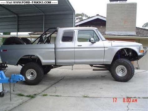 prerunner truck suspension ford f100 prerunner suspension