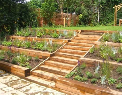 landscaping ideas for sloped backyard best 25 sloped backyard landscaping ideas on