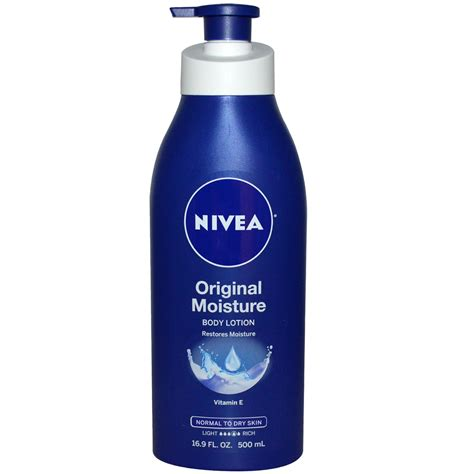 Lotion Vire Bpom Original 500 Ml nivea original moisture lotion vitamin e 16 9 fl oz 500 ml iherb
